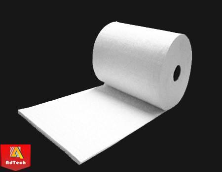 High density heat resistant thermal insulation ceramic fiber blanket
