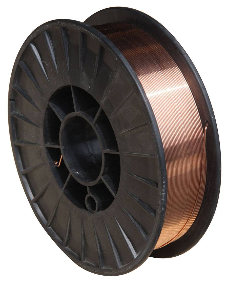 Welding Material Copper-Coated CO2 Gas Shielded Welding Wire (AWS 5.18 ER70S-6)