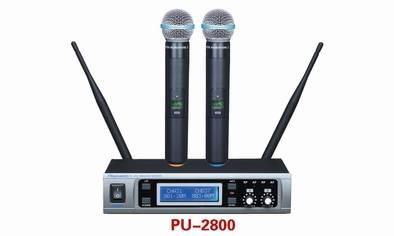 PU-2800 Metal Wireless Microphone