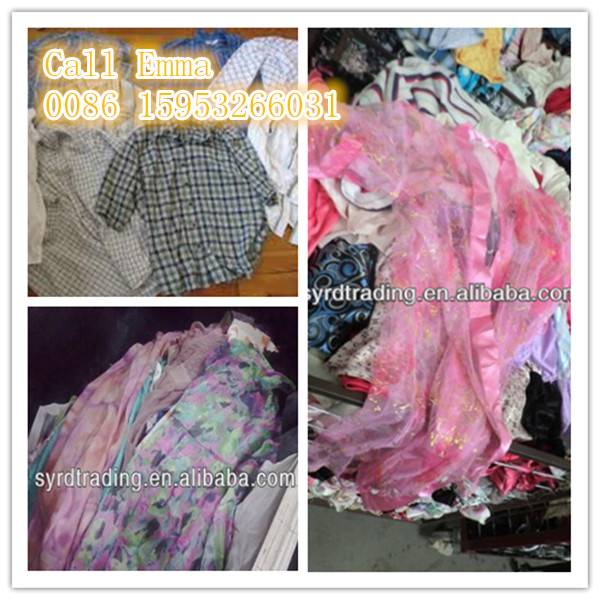 Wholesale good quality bales of mixed used clothing