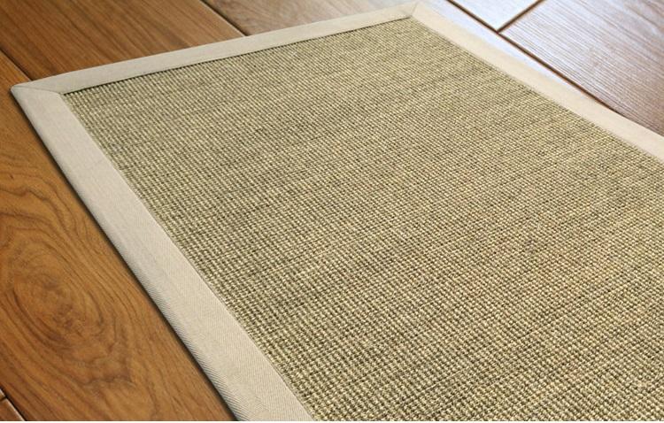 Hot sale 100% natural sisal roll carpet,sisal rug