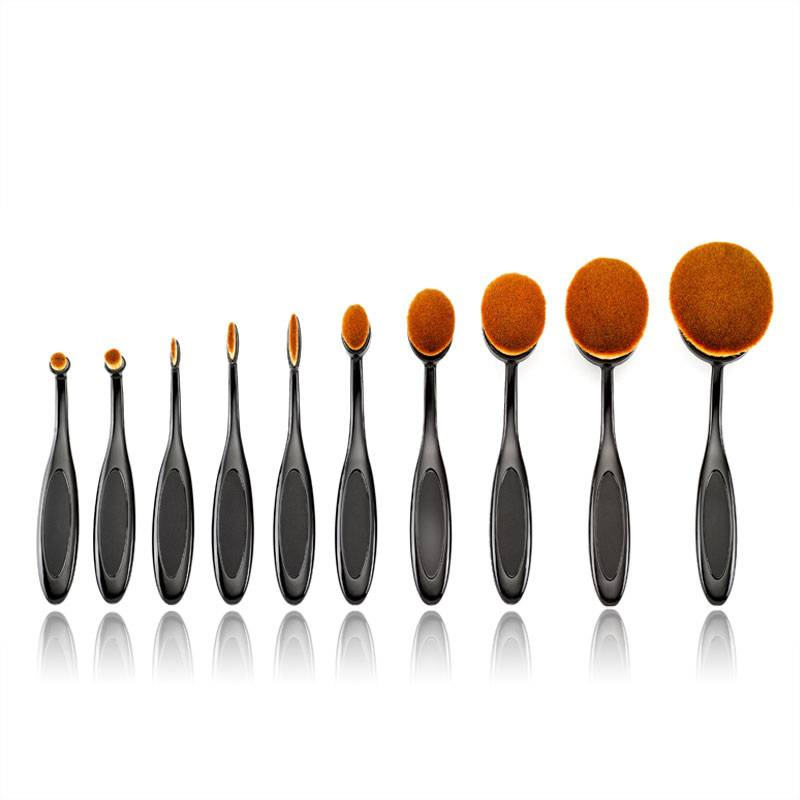 Personalized 10pcs Makeup Brushes Professional Cosmetic Tools Beauty Tools