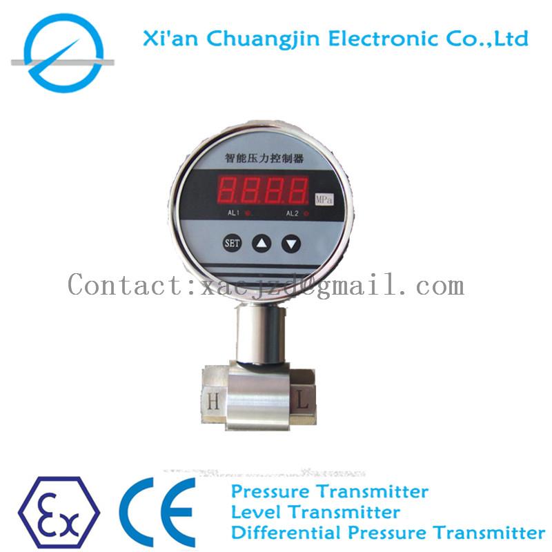 Digital Differential Pressure Transmitter Ce Certification Compatible, Noncorrosive Gases & Liquids