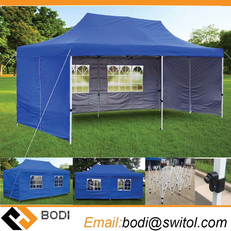 Hot Sale 10X20 Canopy Tents Foldable Outdoor Large Party Event Waterproof Gazebo Canopies