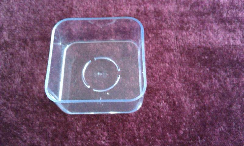 Clear Plastic Tea Light Candle Cups Used as Tea Light Candles Holder /Export Standard Quality