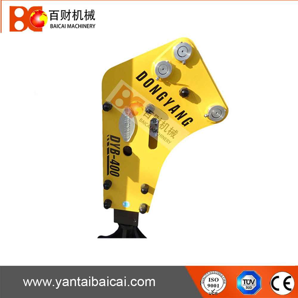 dongyang side type hydraulic rock breaker hammer for 4-7ton excavator