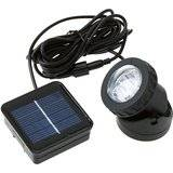 Outdoor Solar Powered LED Spotlight Lamp 6 LEDs For Pool Use
