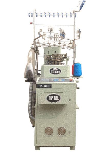 FR-6FP 3.5'' Plain Computer Sock Making Machine