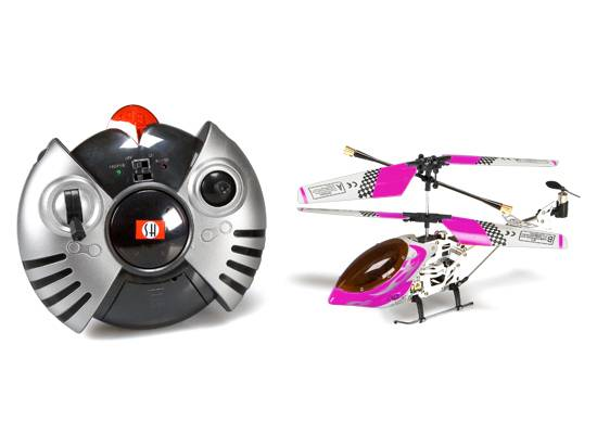 Mini 3CH Infrared Metal RC Helicopter with USB cable charge