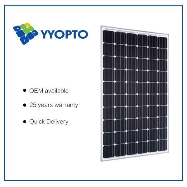 high effiency mono solar panel 250W
