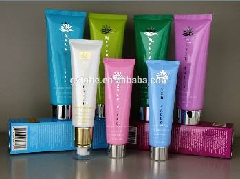 Cosmetic tube with different specifications