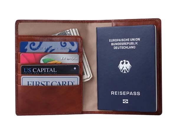 PH94 Premium Leather Passport Holder