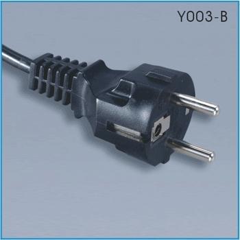 Europe power cord (CEE 7/7)