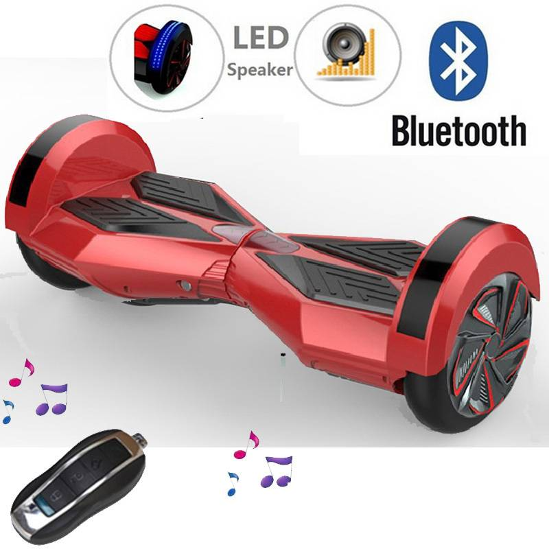 2 Wheel Electric Bluetooth Music Scooter