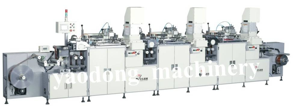 YD-SPA/F300R Automatic Screen Printing Machine