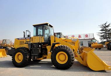 Brand New High Quality 5 Ton, 3 M3, 162kw, 220HP Front Wheel Loader with cummins engine for Sale