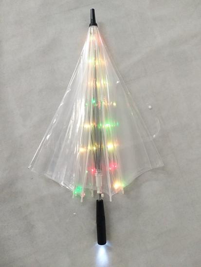 LED Glowing in The Dark Waterproof Umbrella