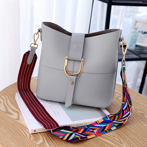 Leather Bucket Bags PF6555