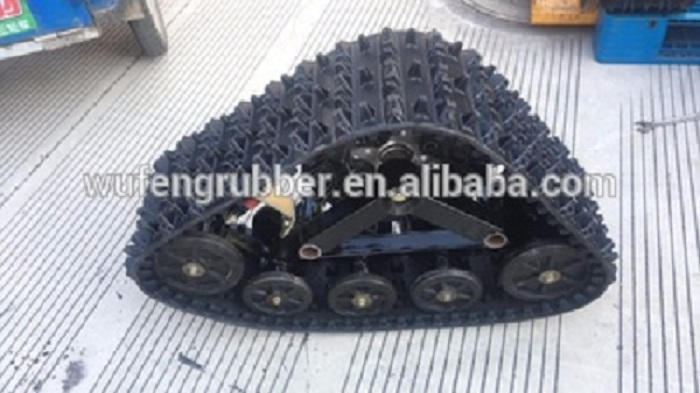 rubber track for SUV 4x4 undercarriage crawler