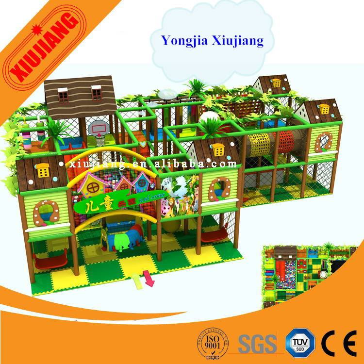 Professional manufacturer field assembly plastic used indoor playground equipment prices