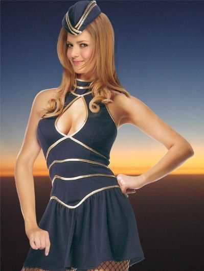 Sexy Air Hostess Costume