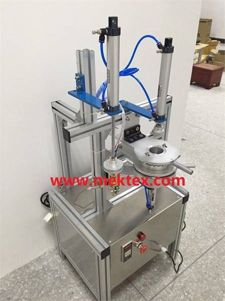 Pneumatic Manual Round Soap Pleated Packing Machine