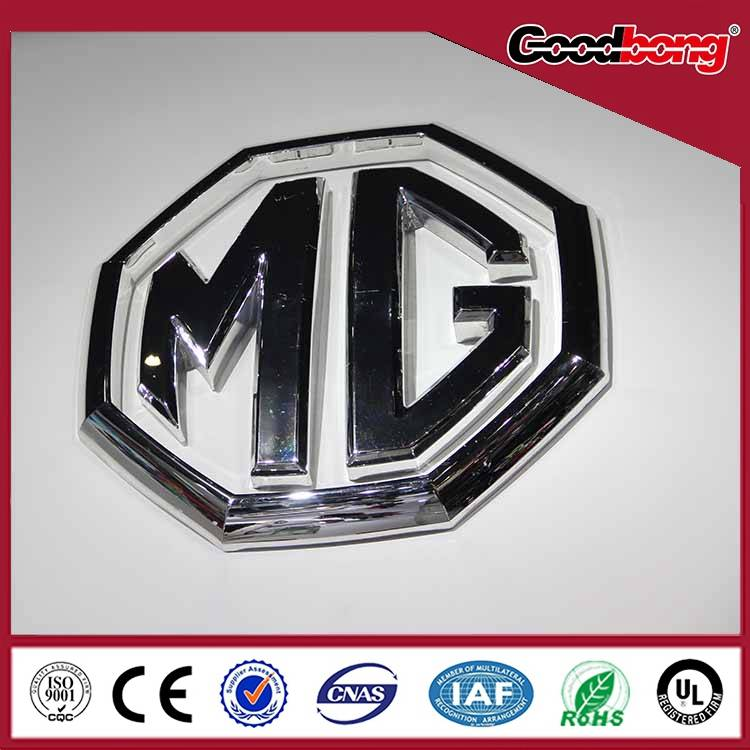 Large size professional custom lighting led car logos and their names