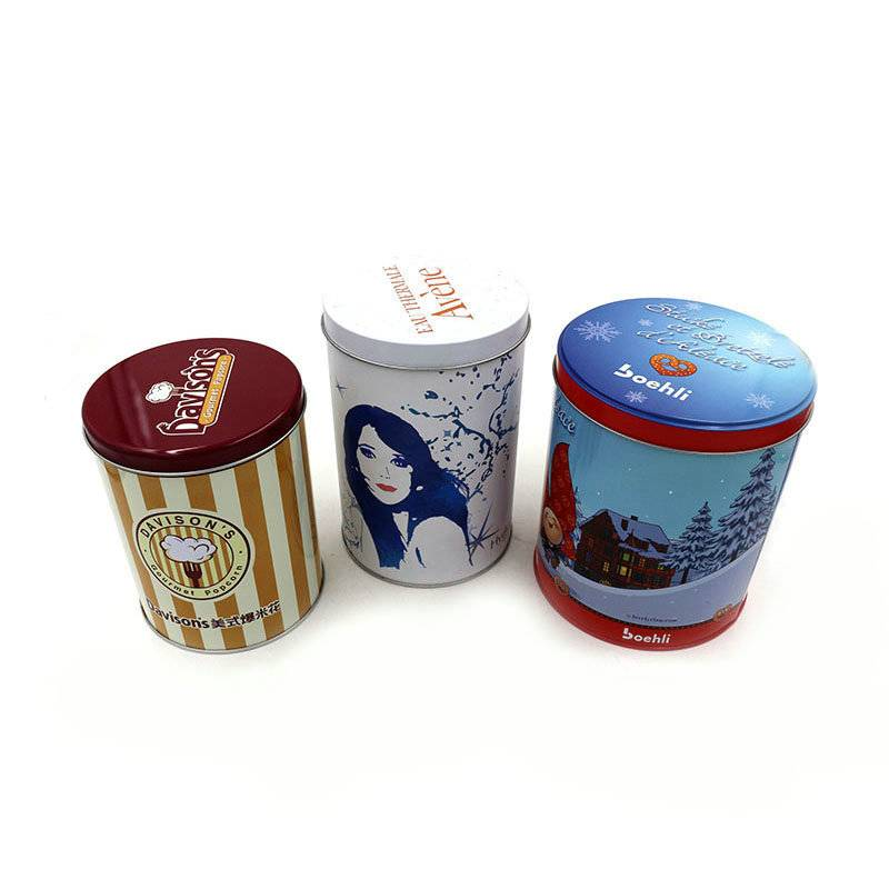 Cute metal tin box candy box jewelry box