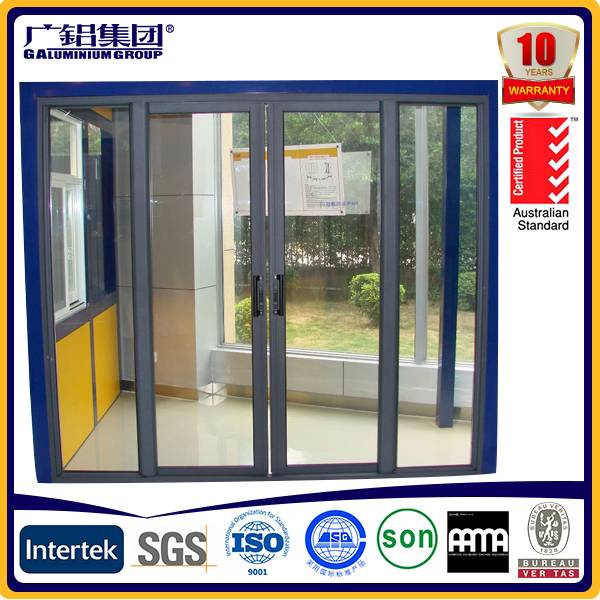 High Quality Energy Saving Double Tempered Low-E Glass Aluminum hinged door