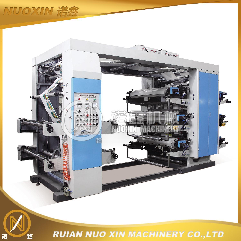 NX 6 Color Plastic Flexographic Printing Machine
