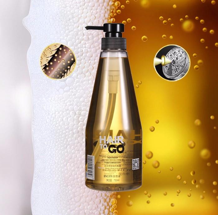 GMPC certification herbal hair shampoo deep cleaning shampoo