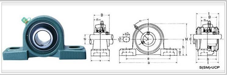 Bearing UCP210 SN508 SNL619 SNL40/500GL