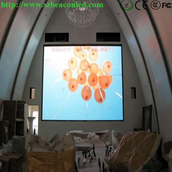 Indoor full color fixed installation P10 LED display screen
