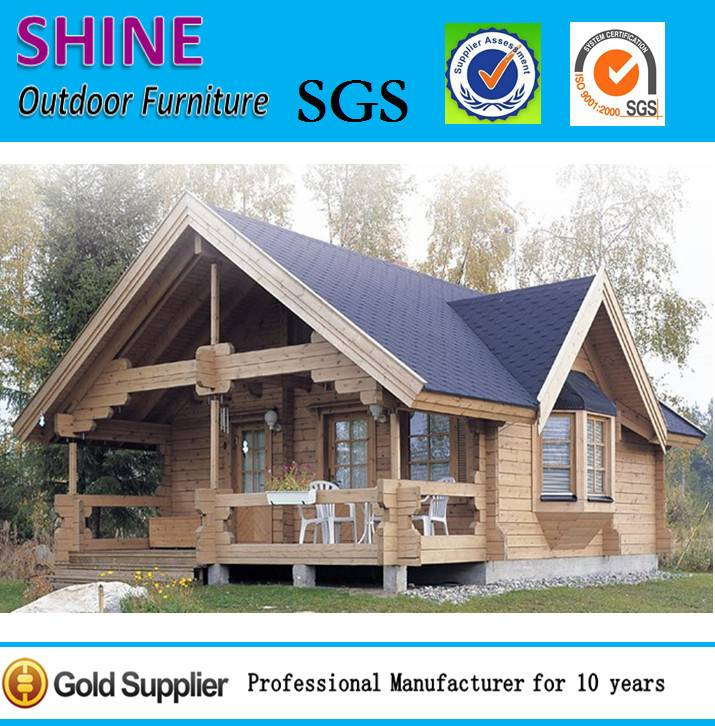 Prefabricated wooden house,villa wooden house ESW-14132