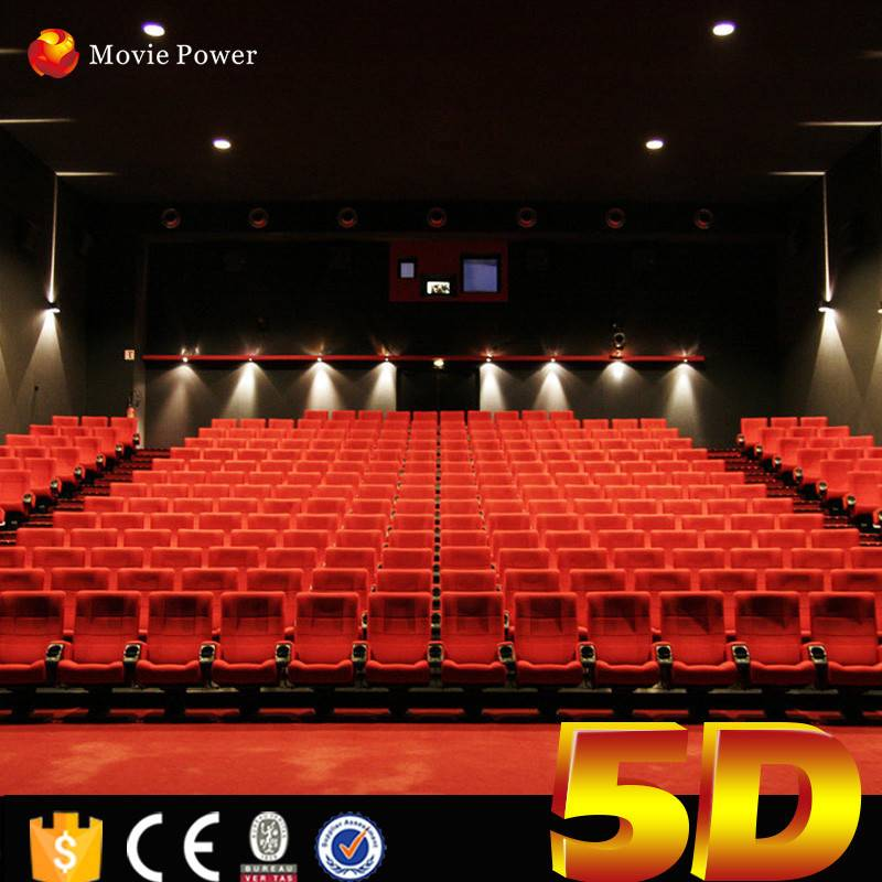 Theme Park 5d Cinema Equipment 4D Motion Cinema Seat 5D Projector Cinema