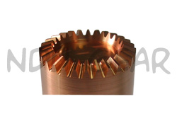 Straight Bevel Gear Electrode