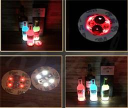 60*3mm 4led bottle sticker 3M bottle lights