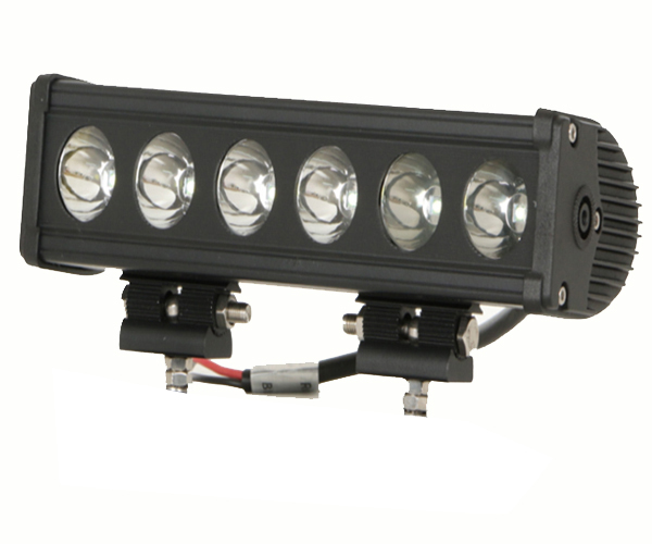 4x4 Single Row high power work light bar headlight CREES 60W 4WD LED headlamp DRL driving for JEEP
