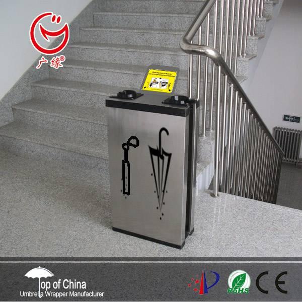 Umbrella bag dispenser