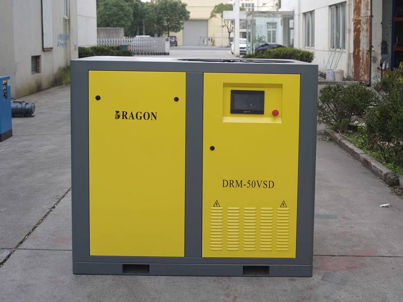 durable Dragon screw air compressor 30kw/40hp