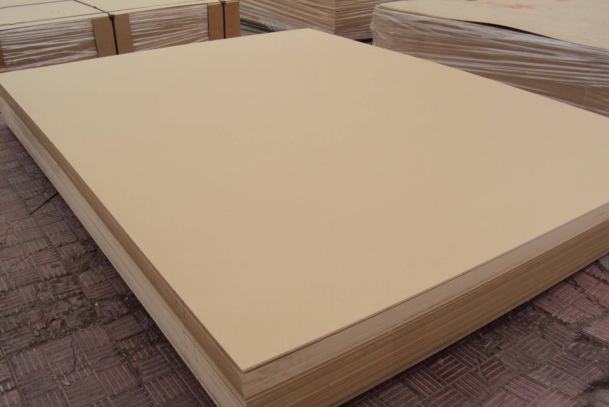 18mm MDF board for construction,raw mdf for sale