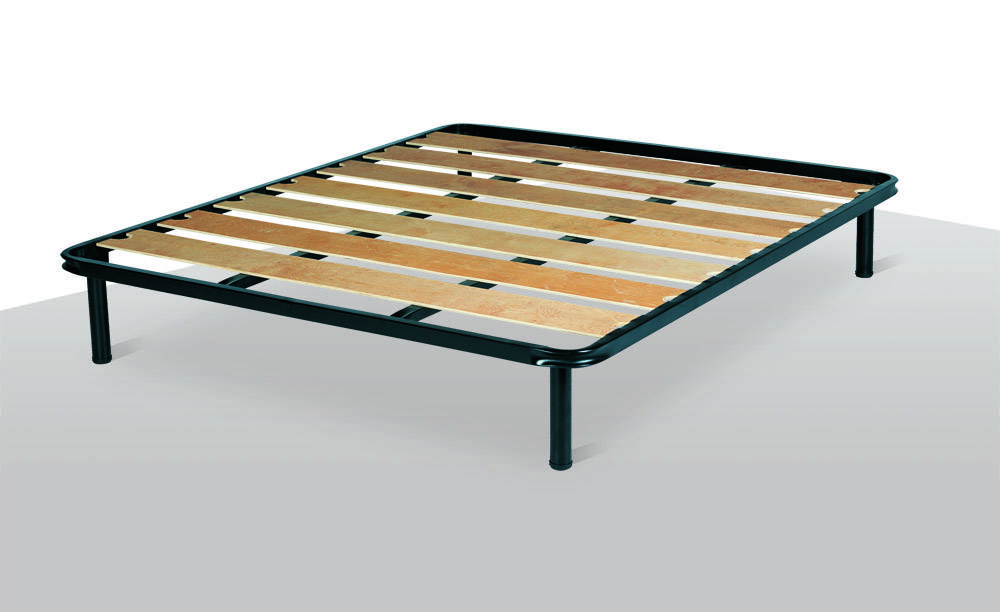 nottinblu ego wood slat frame bed adjustable sleep system el