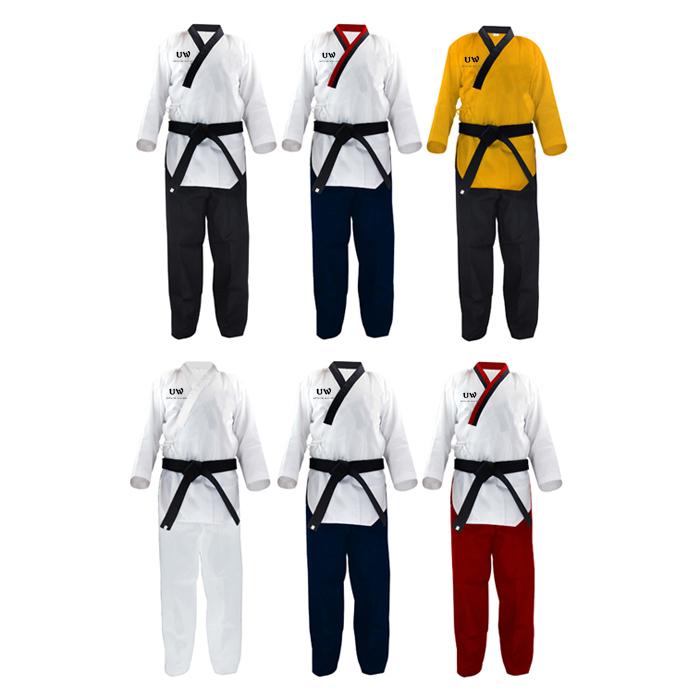 Taekwondo Uniforms with V neck,taekwondo equipment