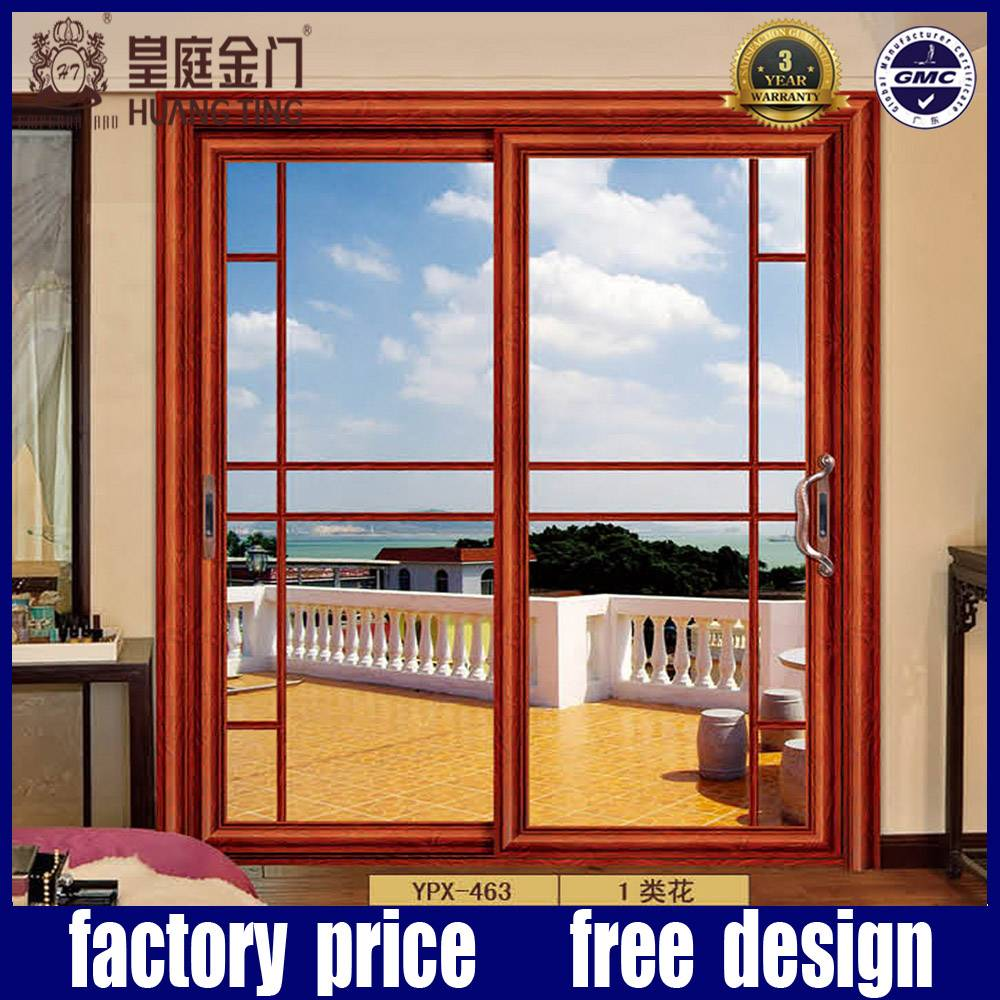 Aluminium Balcony Glass Sliding Door