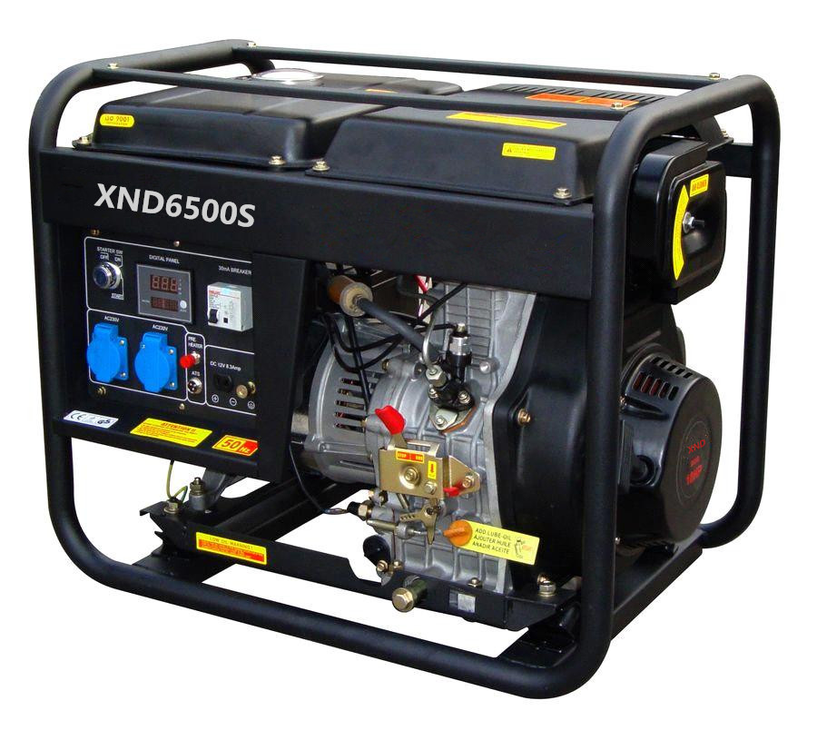 SJ6500S 5KW Diesel generator with three-phase