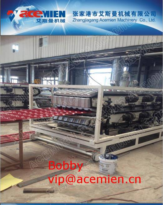 cement roof tile machine/plastic roof tile machine