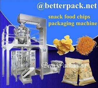 BT-420-10 Automatic chips packaging equipment chips weighing forming filling sealing