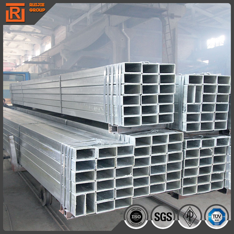40x60 galvanized rectangular steel pipe
