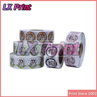 Printing Label Sticker Label&Glossy Round Sticker