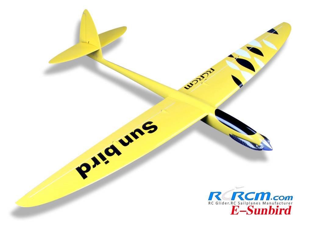 Sunbird-1.52m full composite rc glider